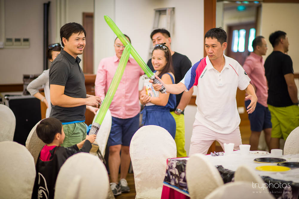 Star Wars Theme Birthday Party of Aaron & Isaac at Tanah Merah Country Club