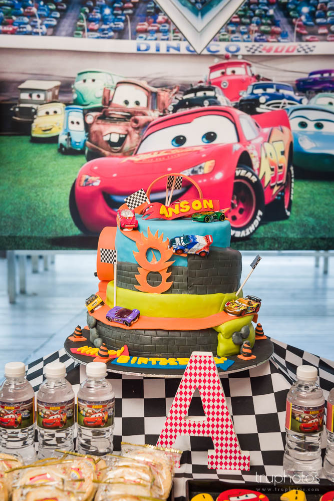 Sports Car Theme Birthday Cake