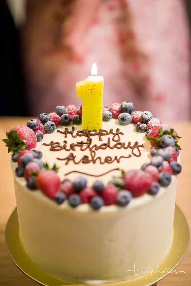 Berry Flavoured Birthday Cake by Plain Vanilla Bakery