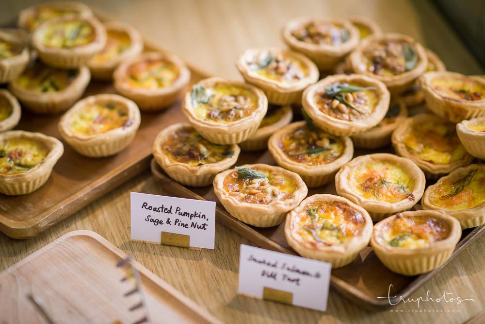 Uniquely flavoured tarts at Plain Vanilla Bakery