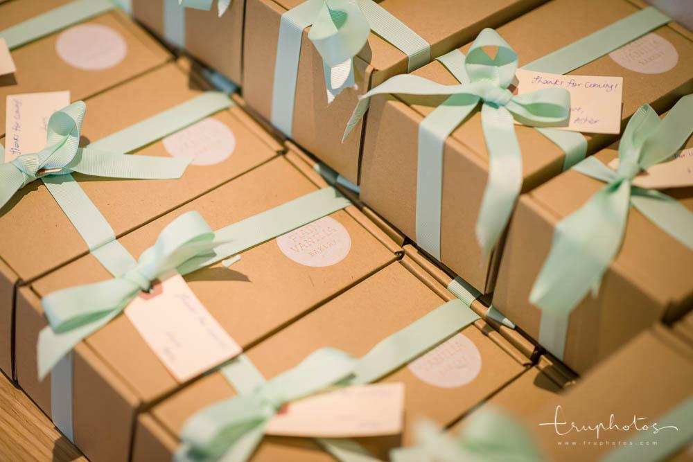 Plain Vanilla Bakery birthday favours