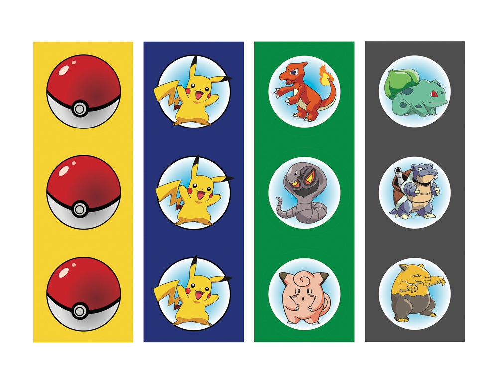 Make Pokemon Cake Toppers